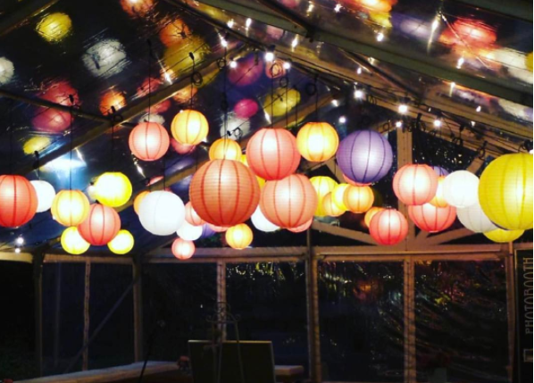 Lanterns - various colours and sizes available